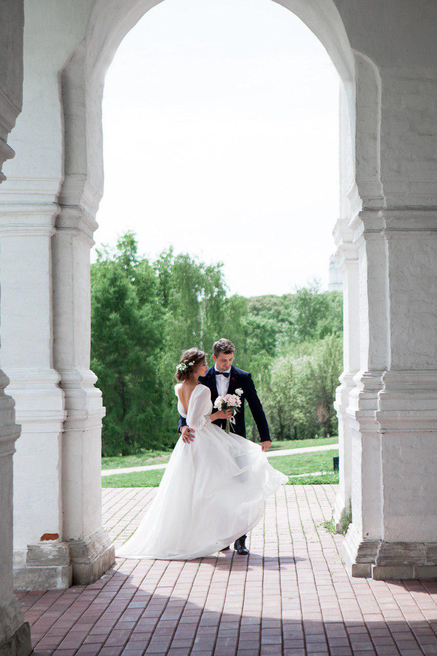 свадьба в парке Коломенское
