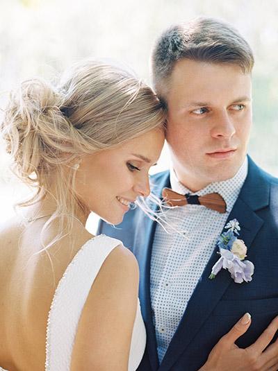 Пастельная свадьба в Загородном доме у озера Зеленоград