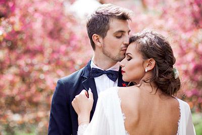 Свадьба в яблоневом саду Коломенское