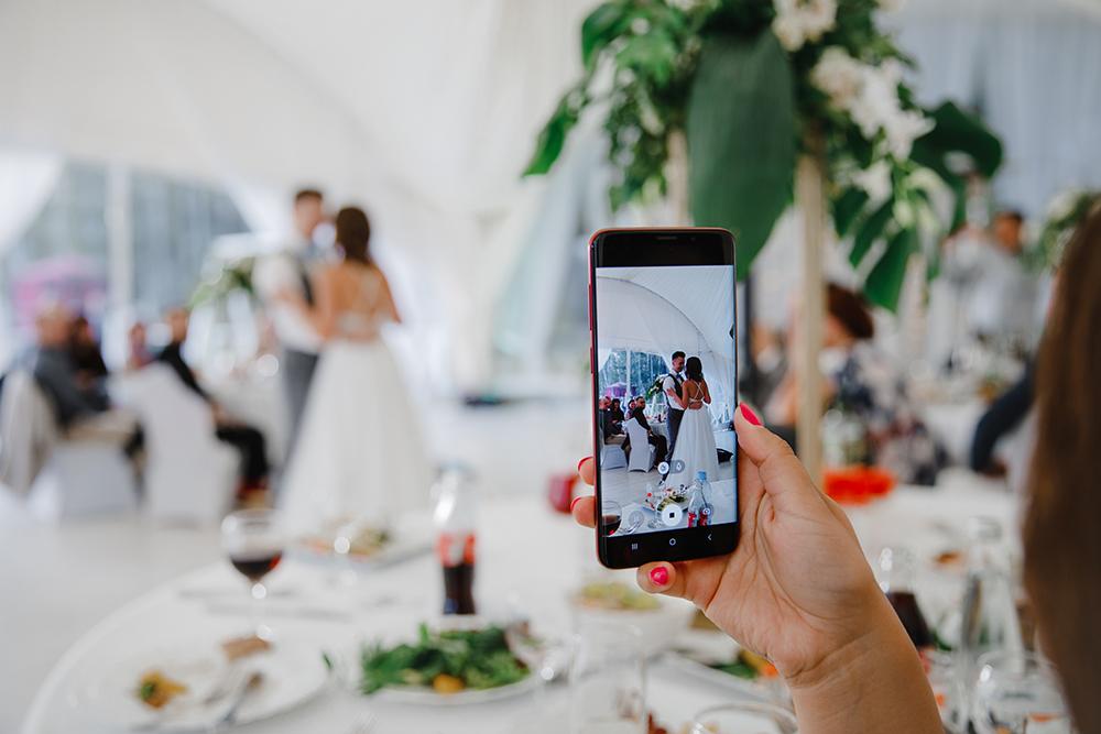 съемка свадьбы на камеру телефона