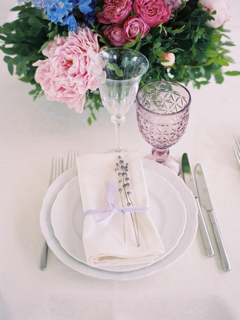 пастельный декор свадьбы