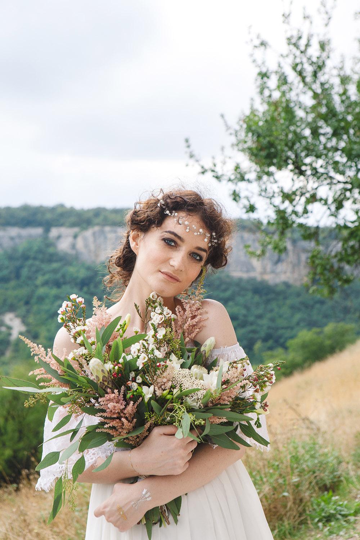 образ невесты бохо Крым