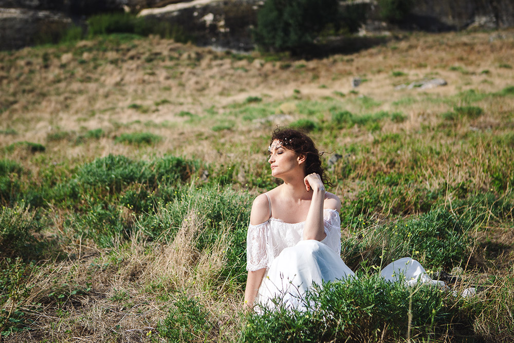 образ невесты в горах