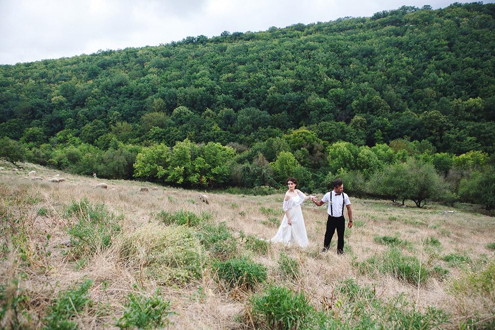 свадьба в горах Крым