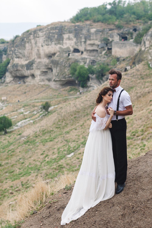 жених и невеста в Чуфут Кале