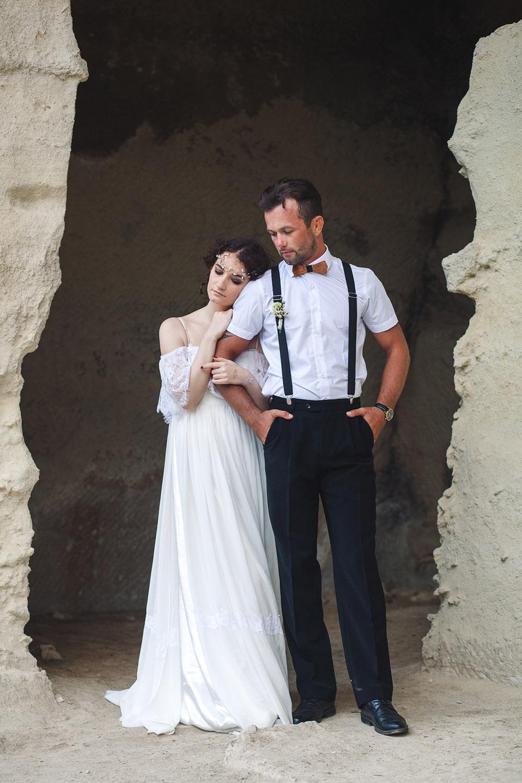 жених и невеста свадебная фотосессия в Крыму