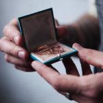 кольца на свадьбу лофт
